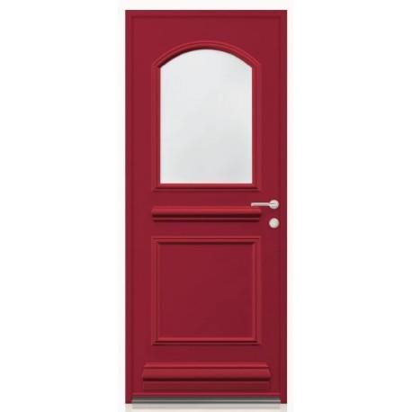 Porte Aluminium OVEA vitrée avec plinthe