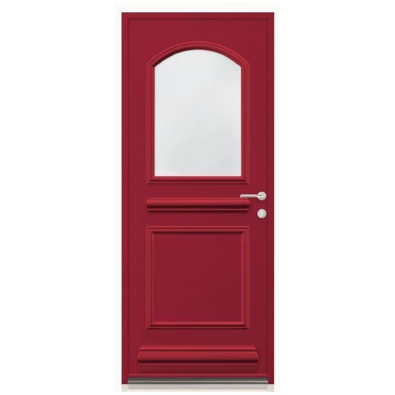 Porte aluminium monobloc vitr e ov a - Porte en aluminium vitree ...