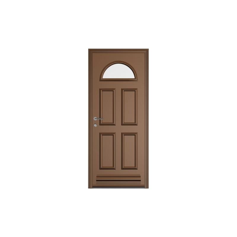 Porte aluminium monobloc vitr e galil a for Porte vitree aluminium