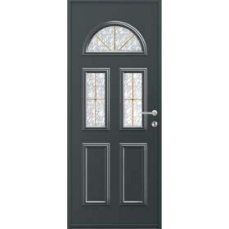 porte aluminium monobloc vitr e galil a. Black Bedroom Furniture Sets. Home Design Ideas