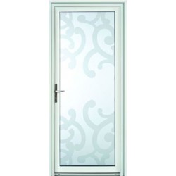 Porte vitr e en triple vitrage d coratif distri portes for Porte vitree 73