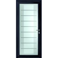 Porte vitr e en triple vitrage d coratif distri portes for Porte vitree aluminium