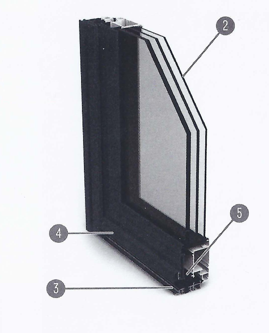 Coupe panneau vitré sphinx